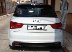 Parte trasera del Audi A1 Sportback
