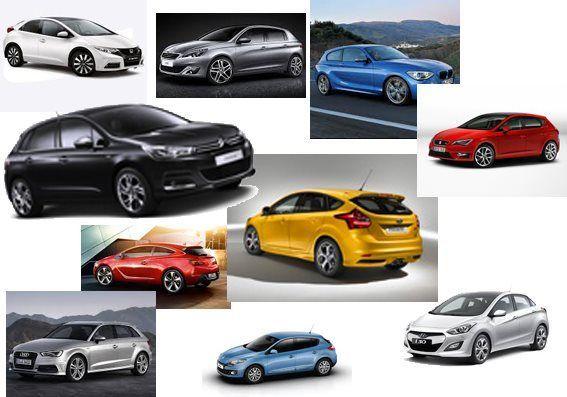 Comparativa de coches compactos 2014