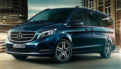Nueva furgoneta Mercedes Clase V 2014
