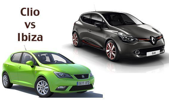 Comparativa Clio vs Ibiza