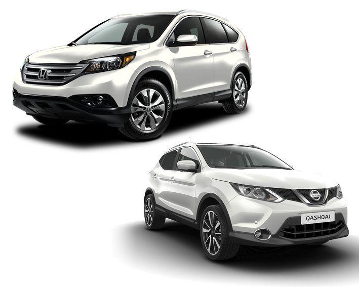 Comparativa Nissan Qashqai ó Honda CR-V