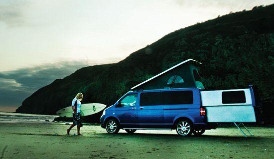 camperizacion furgoneta vw