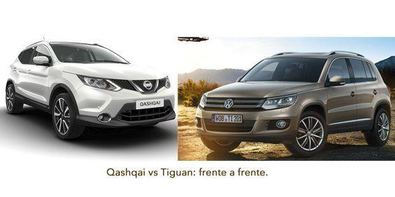 Comparativa Qashqai o Tiguan
