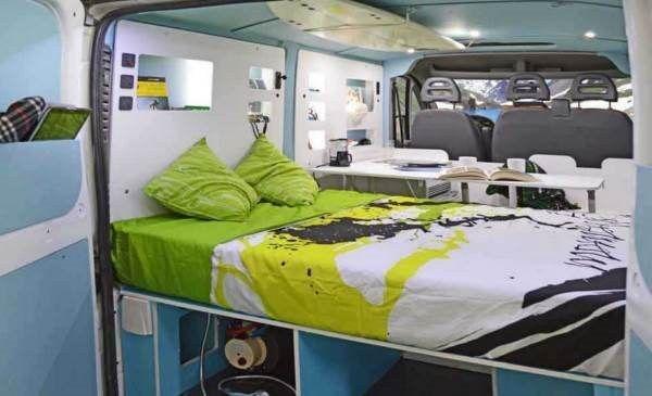 cama doble micamper