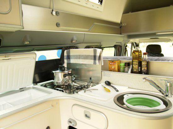 cocina transit camperizada