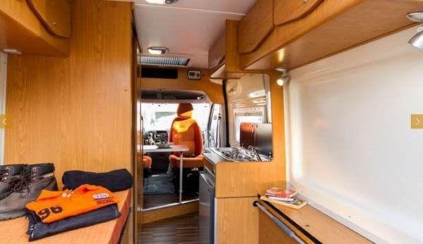 interior caravan sierra