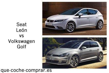 Seat León o Volkswagen Golf