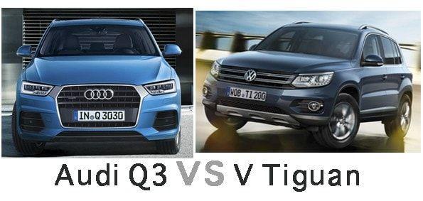 Comparativa Audi Q3 o Volkswagen Tiguan