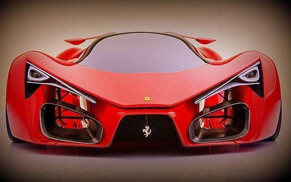 Ferrari F80 Concept vista  frontal