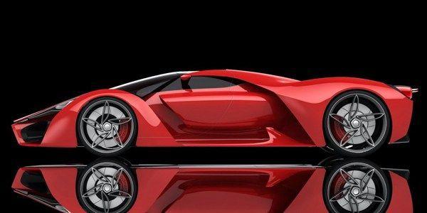 Ferrari F80 Concept Vista lateral