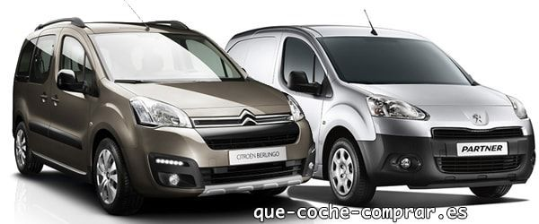 Citroen Berlingo vs Peugeot Partner