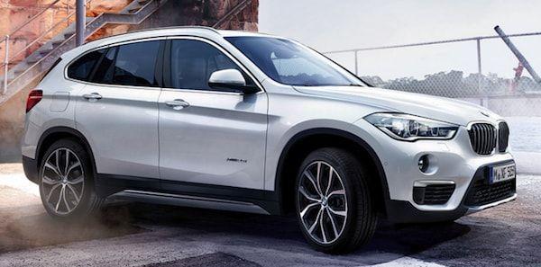 BMW X1 vista lateral