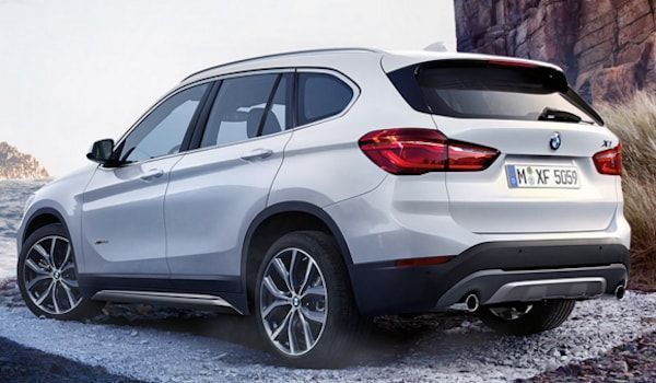 BMW X1 vista trasera