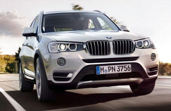 BMW X3 vista lateral