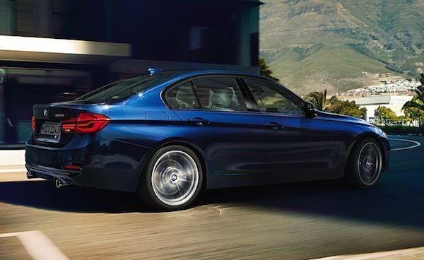 BMW Serie 3 vista lateral