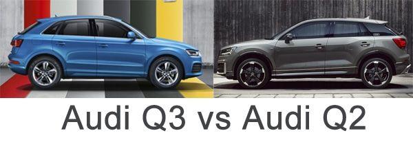 audi q3 vs audi q2