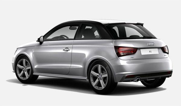 Audi A1 vista trasera