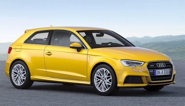 Audi A3 vista delantera