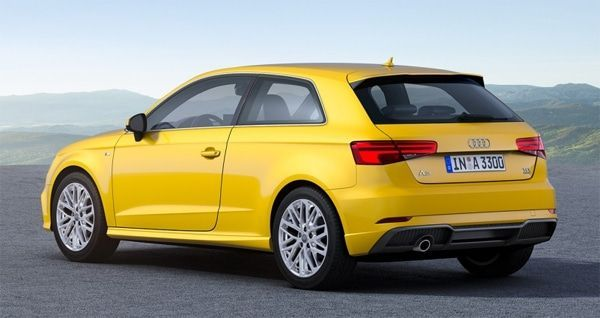 Audi A3 vista trasera