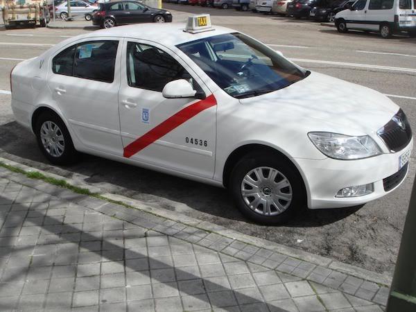 skoda octavia taxi