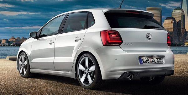 VW Polo vista trasera