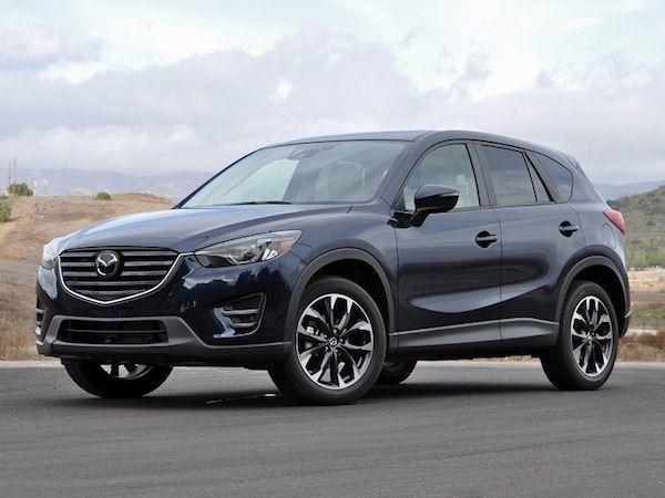 Mazda CX5 vista frontal
