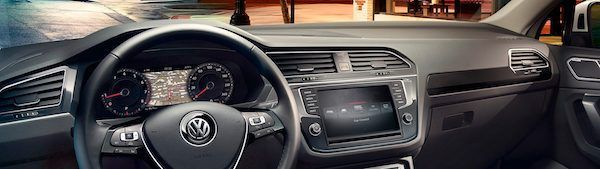 VW Tiguan vista interior