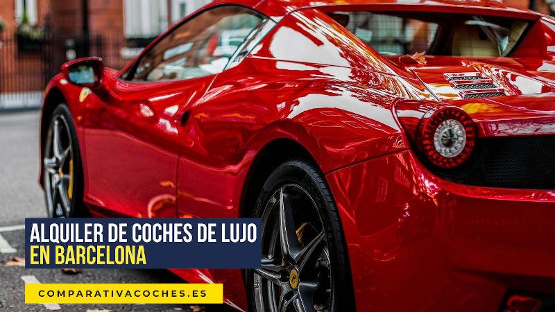 alquiler de coches de lujo en Barcelona